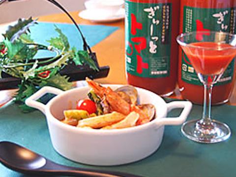 ぎゅーっとトマト鍋